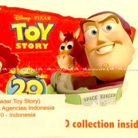 Zaini Toys Story Coklat Disney Milk Chocolate Eggs Surprise Telur