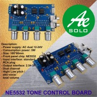 Pre-Amplifier NE5532 Tuning Board Tone Control