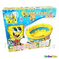 Kolam Renang Anak / Bayi Karakter Spongebob Pool 90 cm - Kuning