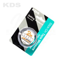 KDS Stick-On Tape Measure 2m - Left Read