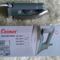Setrika Listrik Cosmos CIS-318 F1 With Stainless Steel Original Murah
