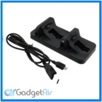 Gamepad Double Charging Dock Stand For PS4 Controller - Black