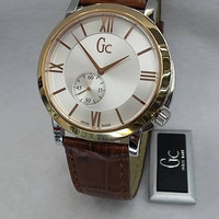Jam Tangan Pria Gc Kulit X59001G1S Original - 1105