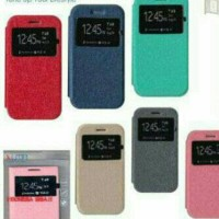 Flip Cover Ume Evercoss One X A65 - Android One