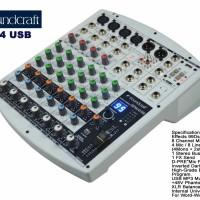 mixer soundcraft efx8/4