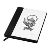 IKEA HISTORISK Buku Tulis Diary 15x20 Cm HITAM - 140 Halaman