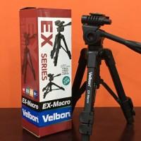 Velbon Tripod EX Macro 3-Way Pan/Tilt Head