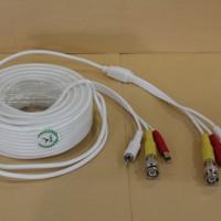 Kabel CCTV Video+ Audio+Power, 30 Meter ( BNC / RCA )