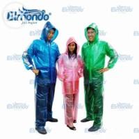 Jas Hujan Setelan Transparan - Elmondo Genesis 923