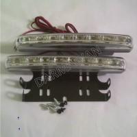 Jual Lampu DRL LED 8Mata/Titik Model Lurus Murah