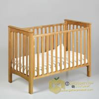 Tempat Tidur Bayi, Box Bayi, Ranjang Bayi, Baby Crib Kayu, Ayunan Bayi