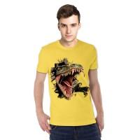 harga Kaos 3d Dinosaurus Goo Kuning Merah Maeroon Merah Navy Orange Tokopedia.com