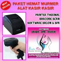 Paket Alat Kasir Plus Software salon & spa