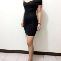 harga Dress Bodycon Sabrina Import Murah Herve Leger Bandage Basic 005 Tokopedia.com