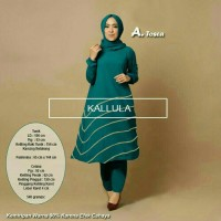 KALLULA SET TOSCA st stelan hijab gamis syari bergo