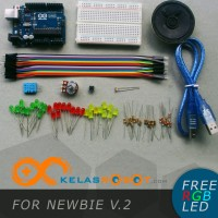 Arduino Uno R3 KIT (Newbie V.1) + FREE EBOOK