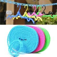 Jual Tali Jemuran 5 Meter Clothes Line Laundry Tambang praktis kuat Murah
