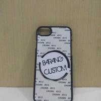 Case Sublimasi 2D iPhone 7 Black