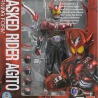 SHF Kamen Rider Agito Burning Form - BANDAI