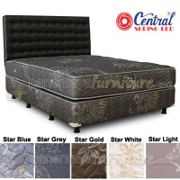 Central Springbed Grand Deluxe Bianca Uk 100x200