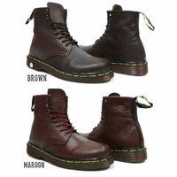 Jual Sepatu Best Seller / Sepatu Dr Martens Docmart Boots Kulit / Sepatu Mo Murah