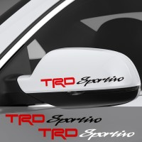 Sticker Spion Mobil Toyota Trd Sportivo Sepasang Cutting Stiker