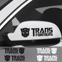Jual Sticker Spion Mobil Transformers Autobot Sepasang Cutting Stiker Murah