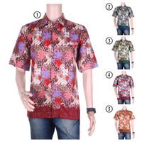 Sale!! Kemeja Batik Pria Semi Sutra Purnama - Pakai Furing