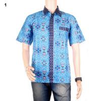 Kemeja Batik Pria Motif Songket Digdaya - Warna 1