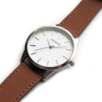 Jam Tangan VERVE Watch - Tipe ARTE Silver - Local Brand Indonesia