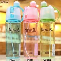 Jual New B Sports Spray Water Bottle (Tumbler/ Botol Spray) Murah