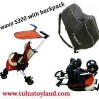 harga Stroller Baby Elle Wave S300 Orange Tokopedia.com