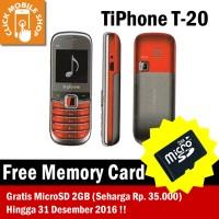 TiPhone T20 (HP Murah/Unik/Sebesar Korek Api) Free MicroSD 2GB