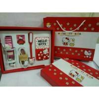 Jual Promo Paket Hemat Power Bank Hello Kitty 4 in 1 Cocok Untuk Kado Murah