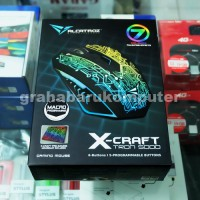 Armaggeddon Alcatroz X-Craft Tron 5000 Gaming Mouse