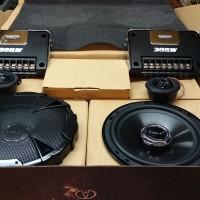 speaker split 2-Way component merk venom virus by venom type VS65B