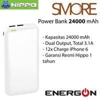 ... harga Hippo Power Bank 24000 mAh - Smore - White / Putih - Simple Pack Tokopedia