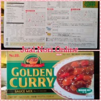 S&B Golden Curry @1kg Medium Hot . bumbu kari jepang premium