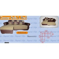 Jual Sofa L Bed PALMWOOD Imperial