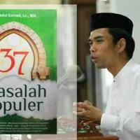 37 Masalah Populer Ust. Abdul Somad