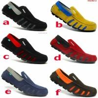 Sepatu Pria Kickers Slip On Slop Casual