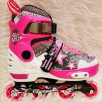 Sepatu Roda Anak Banwei BW 136 - Pink