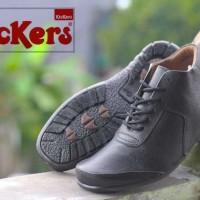 harga Sepatu Kickers Tali King Kulit Semi Boots Pria 2 Warna Tokopedia.com
