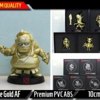 Pudge Gold Action Figure || Dota Mainan Figurin Miniatur Navi