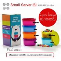Tupperware Small Savers Smart Saver Server Wadah Mangkok Kecil Lucu
