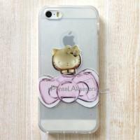 soft Case iPhone 5/5S (HELLO KITTY PARFUME) Glitter 3D