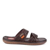 Sandal Anak Carvil Boys Sandal Casual Minion-32C - Dark Brown