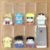 iPhone 5/5S Cartoon Hand Pinch Case