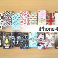 Soft case Silicon iPhone 4, iPhone 4S Jelly Glitter
