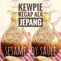 KEWPIE 1Liter Salad Dressing Sesame Soy Sauce | Kecap Ala Jepang